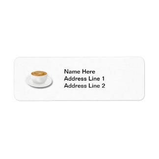Cuppa Coffee Label