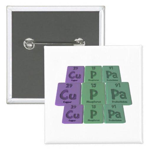 Cuppa-Cu-P-Pa-Copper-Phosphorus-Protactinium.png Pin Cuadrada 5 Cm
