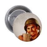 Cuppa Joe Pinback Buttons