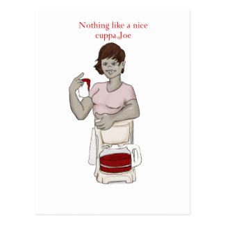 cuppa joe postcard