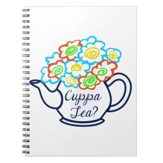 CUPPA TEA NOTE BOOKS