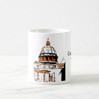 cuppolone, CuppoloneRoma Classic White Coffee Mug