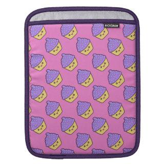 Cuppy Cake Cute Kawaii Cupcake Rickshaw iPad Sleev iPad Sleeve