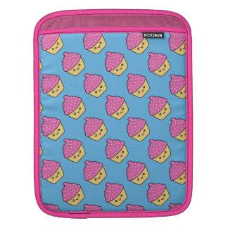 Cuppy Cake Cute Kawaii Cupcake Rickshaw iPad Sleev Sleeve For iPads