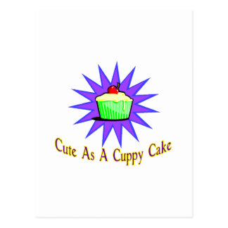 Cuppy Cake Postcard