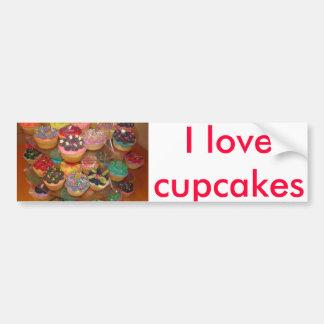 Cuppy cakes car bumper sticker