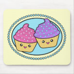 Cuppy Cakes Friends Kawaii Mousepad