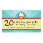 CuppyCake Coupon Card Business Card Templates