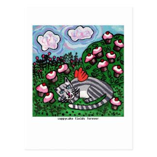 Cuppycake Fields Postcard