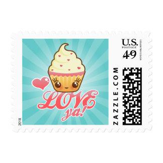 CuppyCakes Love Ya! Stamps