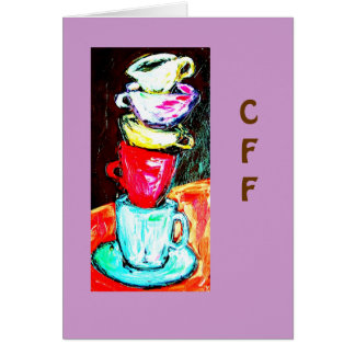 cups and mugs card