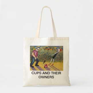 CUPS AND THEIR OWNERS TOTE BAG