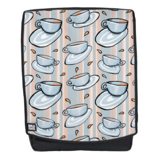 Cups Medley blue Backpack + Face