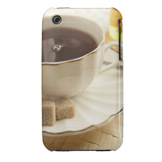 Cups of coffee and sugar. Case-Mate iPhone 3 case