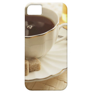 Cups of coffee and sugar. iPhone 5 cases