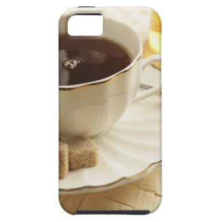 Cups of coffee and sugar. iPhone SE/5/5s case