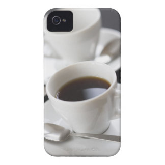Cups of coffee with saucer iPhone 4 case
