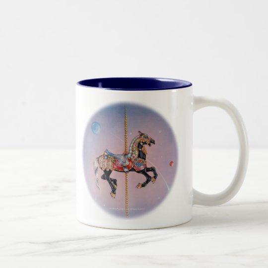 Cups - Petaluma Carousel Horse 1