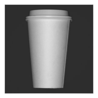 Cups To Go Print
