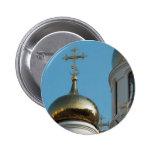 Cúpula rusa de la iglesia ortodoxa pins