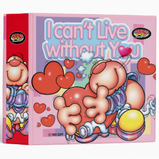 CUPY I can`t without you 3 Ring Binder