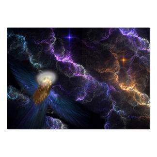 Cura del ángel tarjetas de visita grandes