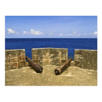 Curaçao. Bahía de Beekenburg Caracas del fuerte Postal