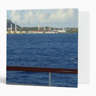 Curacao Coastline 3 Ring Binder