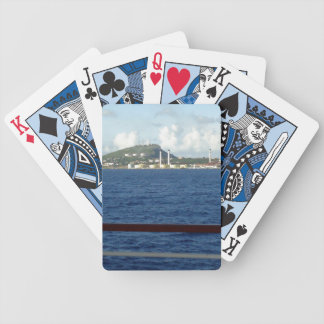 Curacao Coastline Bicycle Playing Cards