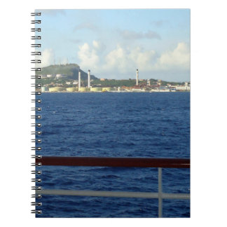 Curacao Coastline Notebook