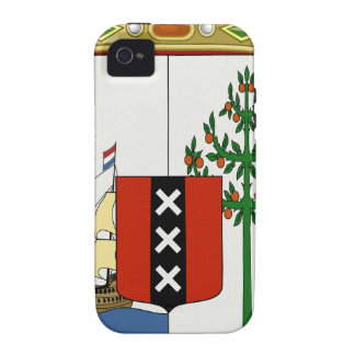 Curaçao Coat of Arms Case-Mate iPhone 4 Covers