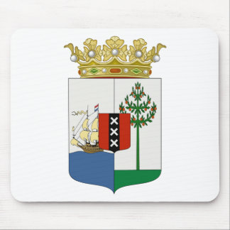 Curaçao Coat of Arms Mouse Pad