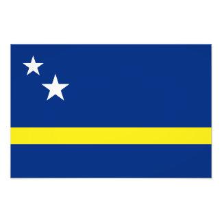 Curacao - Curacaoan Flag Photo