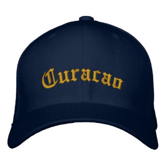 Curacao Embroidered Baseball Cap