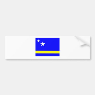 Curacao Flag Car Bumper Sticker