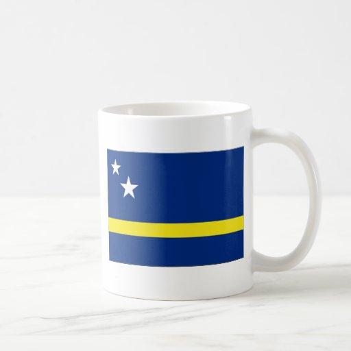 Curaçao Flag Classic White Coffee Mug