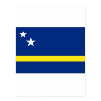 Curaçao Flag Postcard