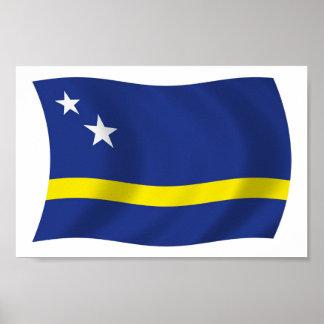 Curacao Flag Poster Print