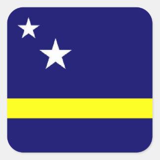 Curacao flag sticker