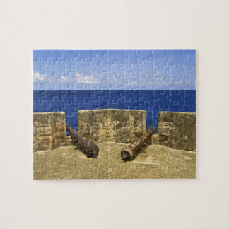Curacao. Fort Beekenburg Caracas Bay. Jigsaw Puzzle