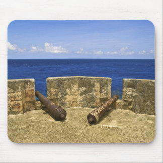 Curacao. Fort Beekenburg Caracas Bay. Mouse Pad