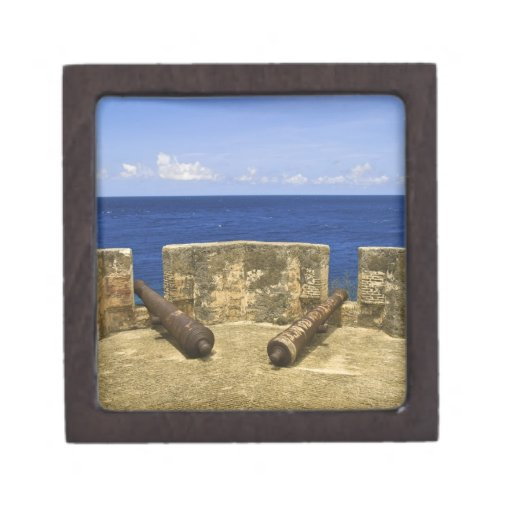 Curacao. Fort Beekenburg Caracas Bay. Premium Jewelry Boxes