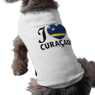 Curacao Love Pet Tshirt