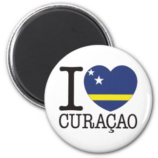 Curacao Love v2 2 Inch Round Magnet