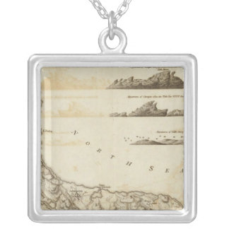 Curacao Square Pendant Necklace