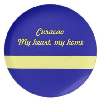 Curacao Party Plates