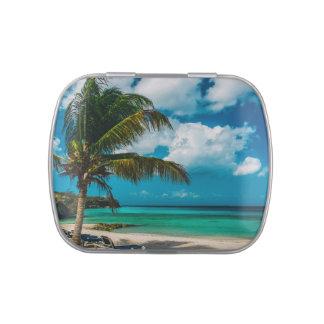 Curacao, Playa Porto Marie Jelly Belly Tin