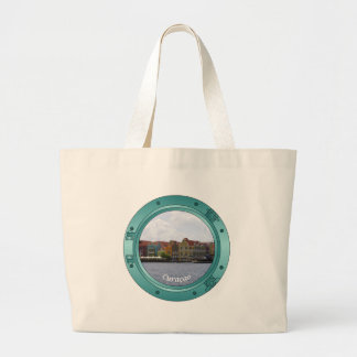 Curacao Porthole Jumbo Tote Bag