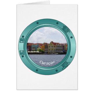 Curacao Porthole Card