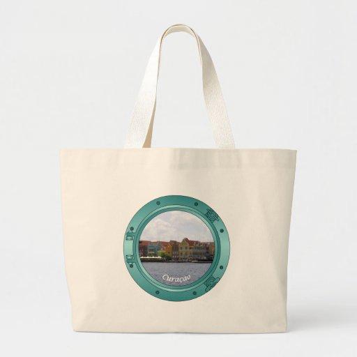 Curacao Porthole Large Tote Bag
